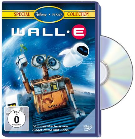 Roboter Filme: WALL·E - Der Letzte räumt die Erde auf