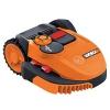 Worx Landroid Rasen-Mähroboter SO500i bis 500 qm mit Wi-Fi, WR105SI, 1 Stück, Orange -